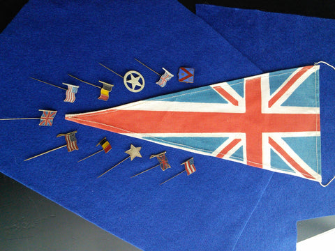 Original flag set to celebrate the Liberation of Western Europe in May 1945