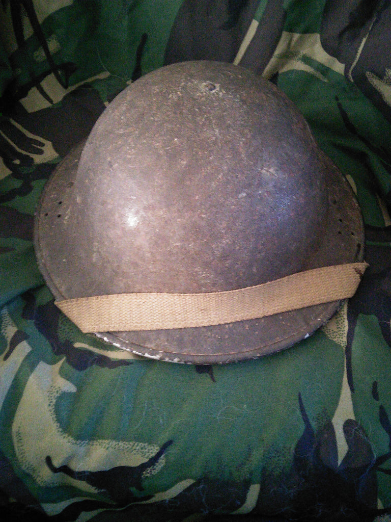 "WW2 British Home Front ""Tommy"" Helmet dated 1941"