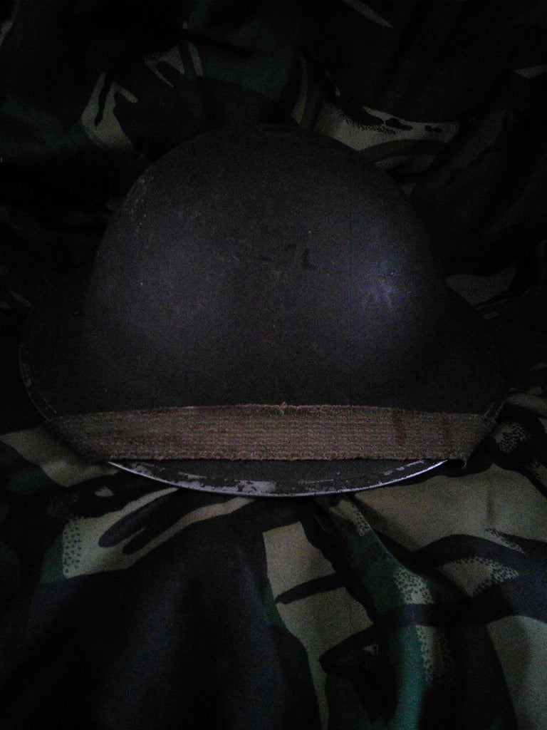"WW2 British Infantry ""Tommy"" Helmet dated 1939"