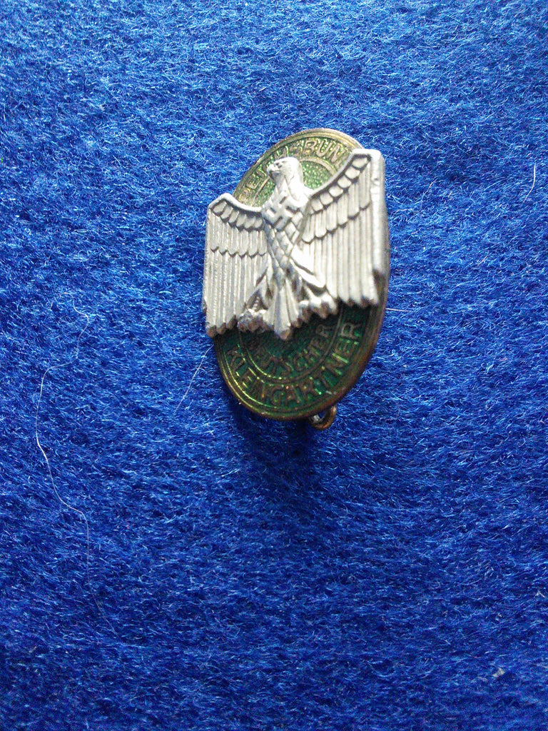 Original German brooch/badge 'Reichsbund Deutscher Kleingartner' (RDK)