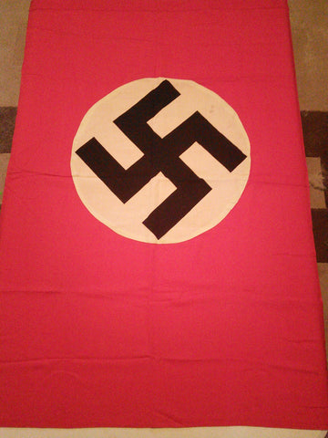 Original German Third Reich Vertical Hanging Flag