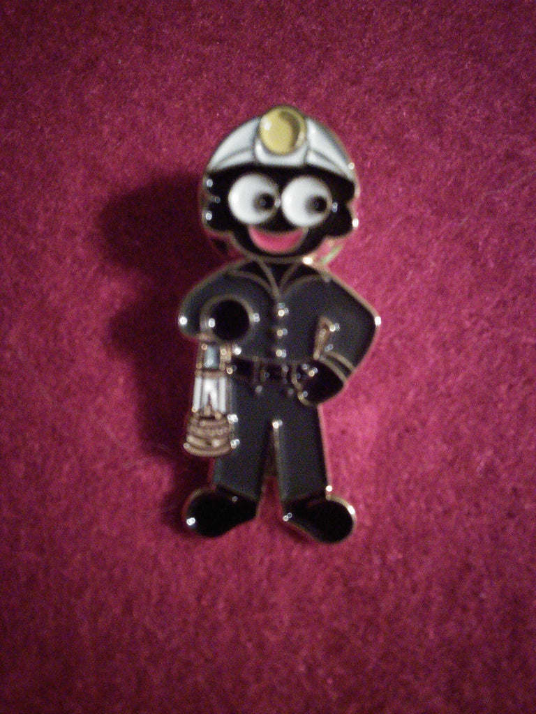 Bevin Boy Golly Pin Badge