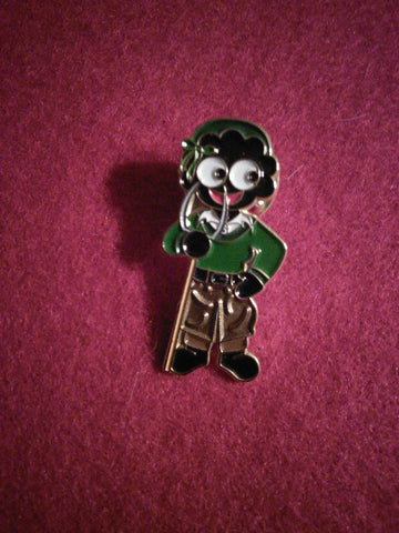 Land Army Girl Golly Pin Badge (WLA)