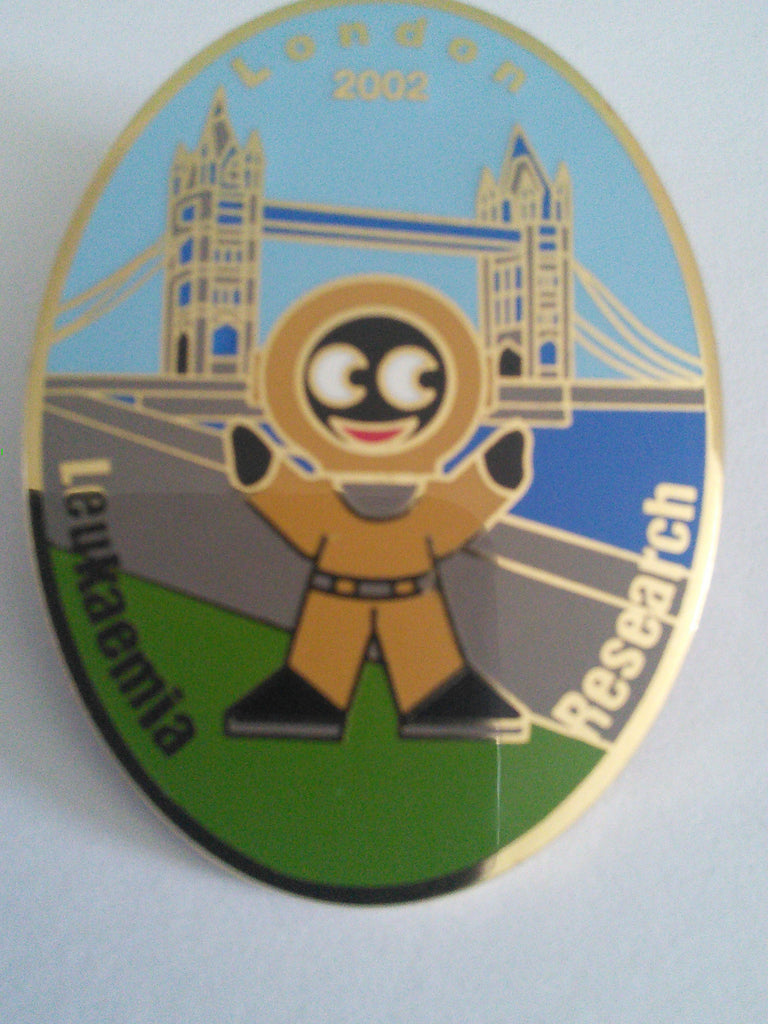 Golly pin badge 'The Lloyd Scott Collection' London, 2002