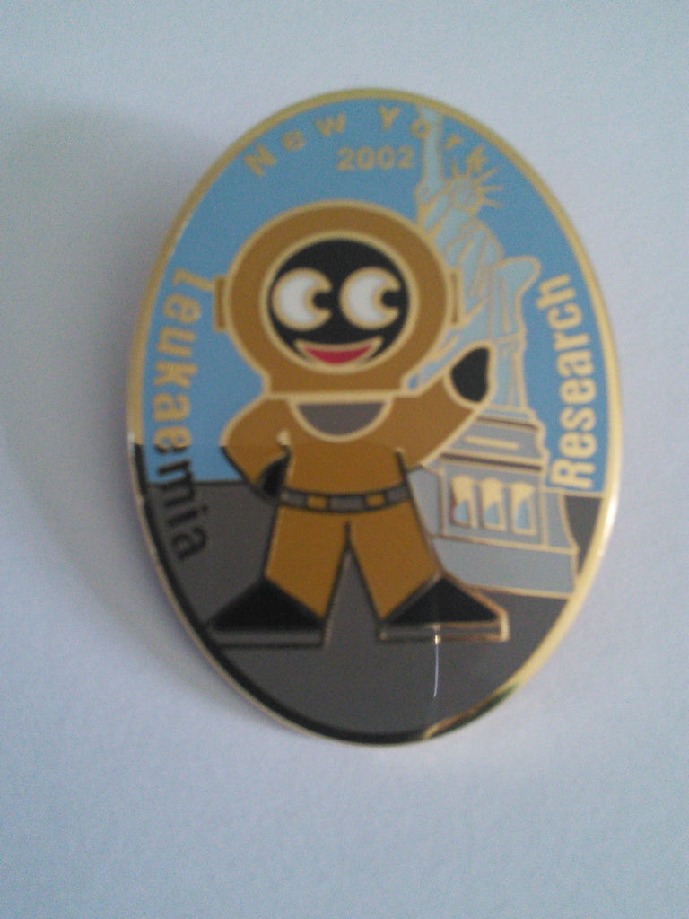 Golly pin badge 'The Lloyd Scott Collection' New York 2002