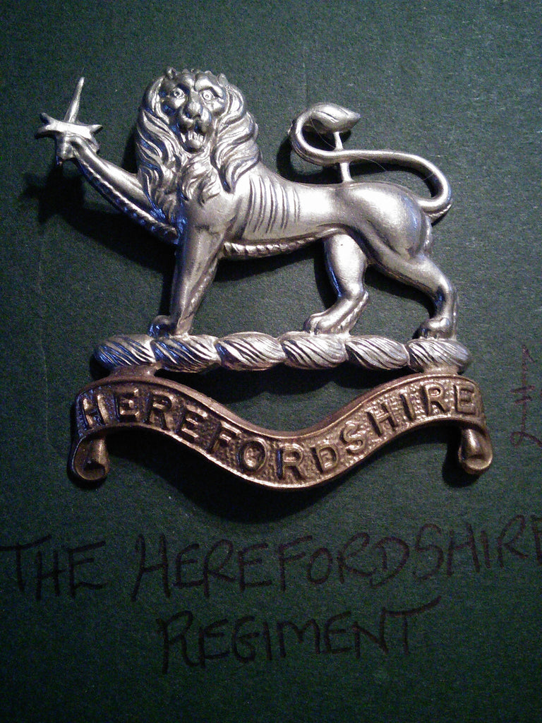 Cap badge The Herefordshire Regiment