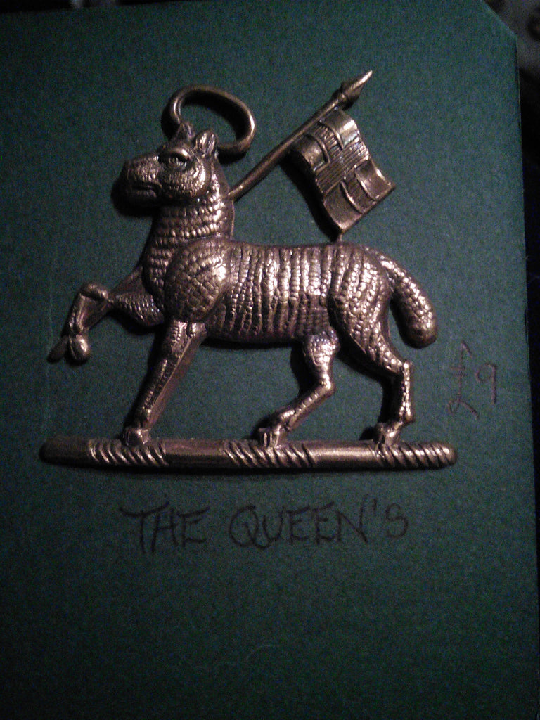 The Queen's cap badge