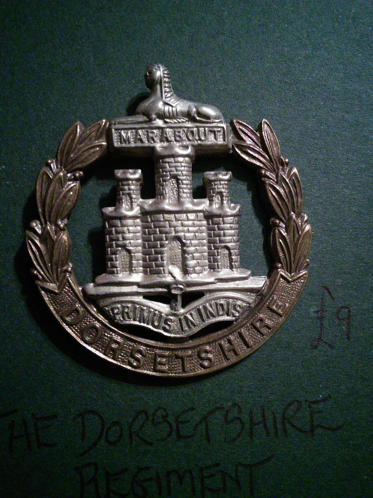 The Dorsetshire Regiment cap badge
