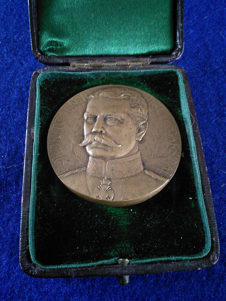 Lord Kitchener bronze medallion