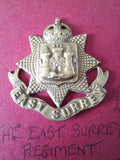 Original cap badge The East Surrey Regiment