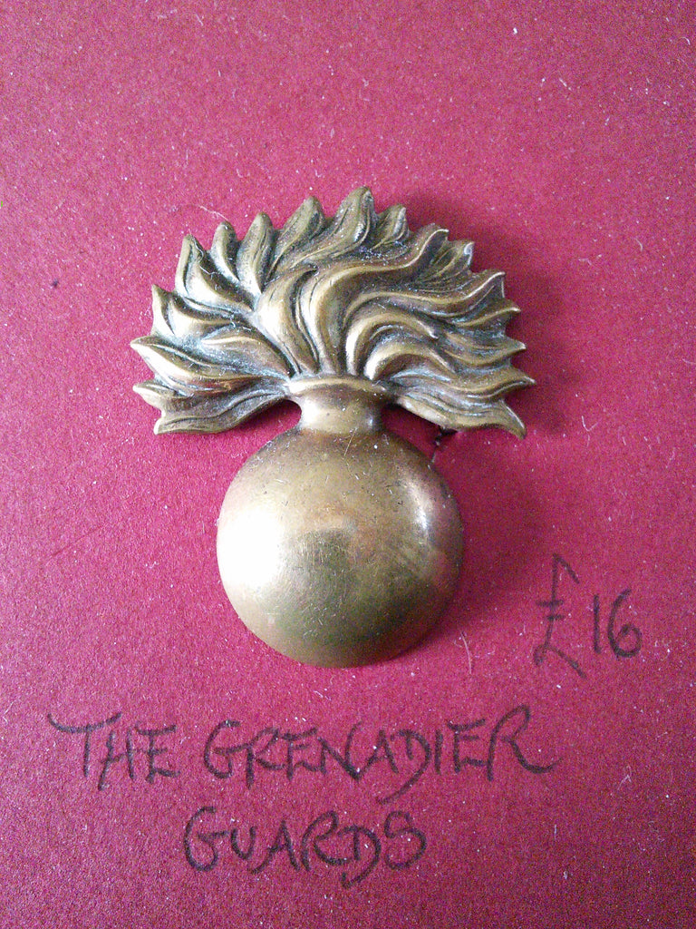 The Grenadier Guards original cap badge