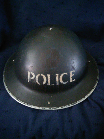 WW2 British Police Constable's Helmet