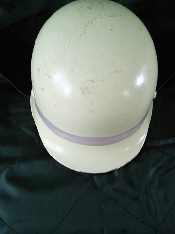 Original West German Firefighters Helmet with neck protector