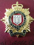 Royal Logistic Corps (Officers) original anodised cap badge
