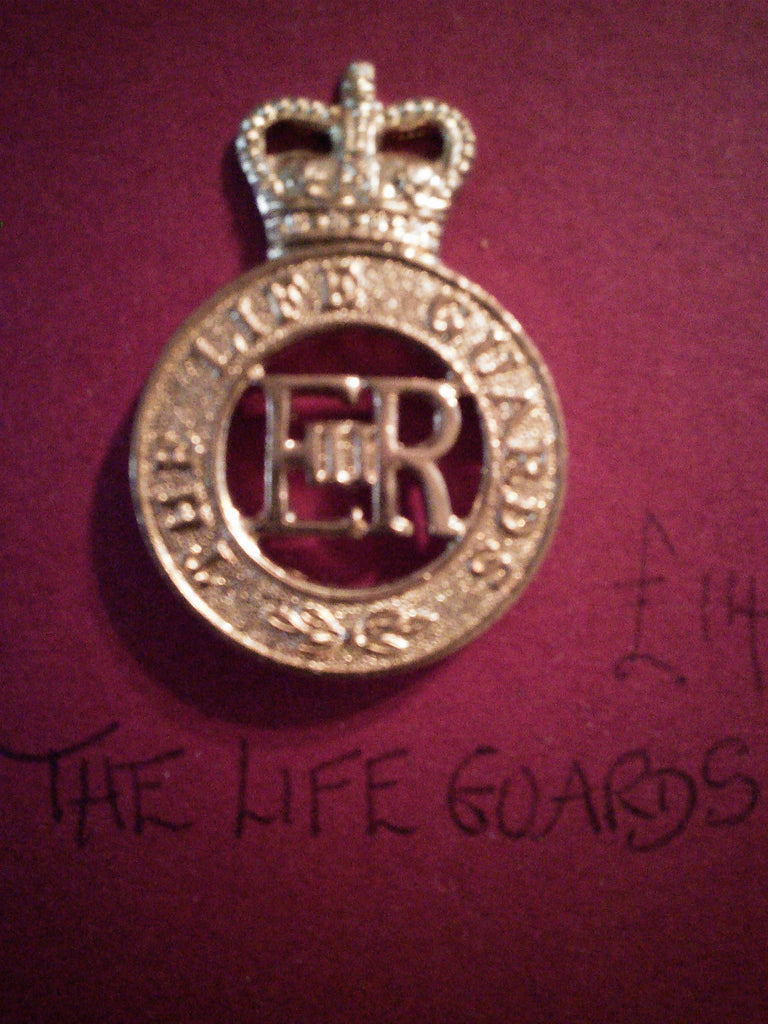 The Life Guards original anodised cap badge