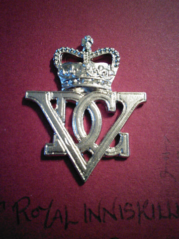 5th Royal Inniskilling Dragoon Guards original anodised cap badge