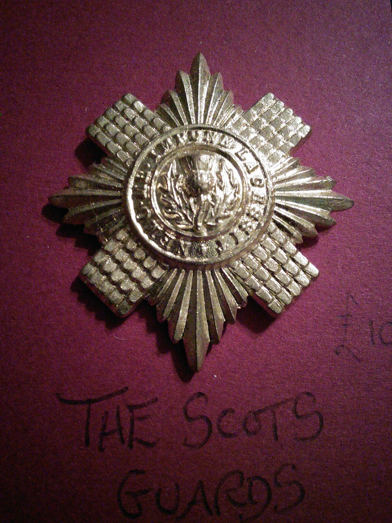 The Scots Guards original anodised cap badge