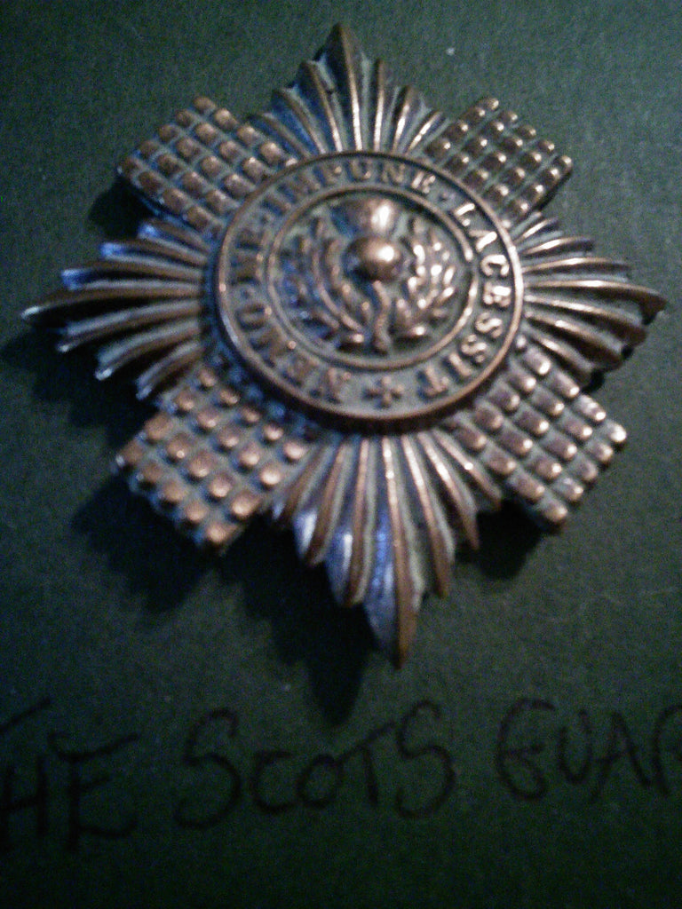 The Scots Guards cap badge