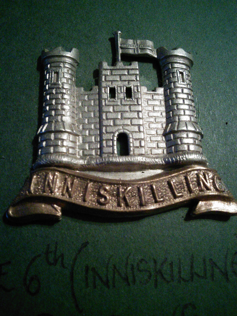 The 6th (Inniskilling) Dragoons cap badge