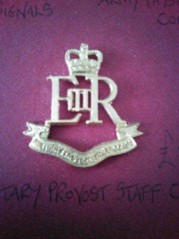 Original anodised cap badge Military Provost Staff Corps