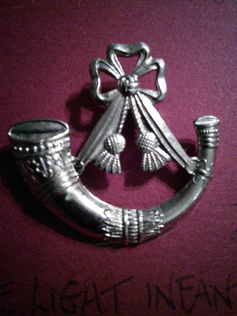 Original anodised cap badge The Light Infantry