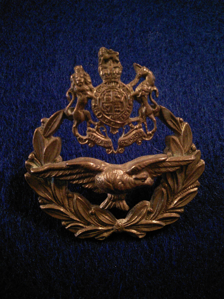 Original RAF cap badge Master Air Crew