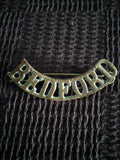 Shoulder title - The Bedfordshire Regiment