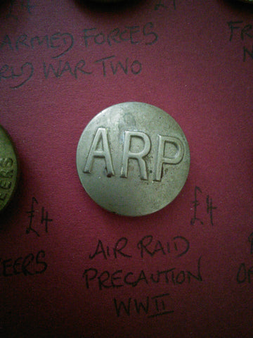 Original Air Raid Precaution button