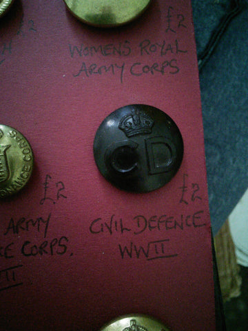 Original Civil Defence button