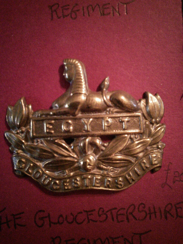 Original cap badge The Gloucestershire Regiment