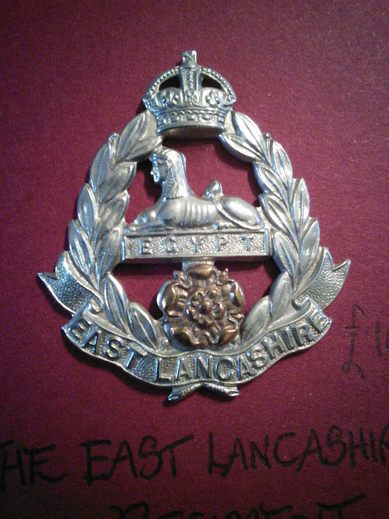 Original cap badge The East Lancashire Regiment