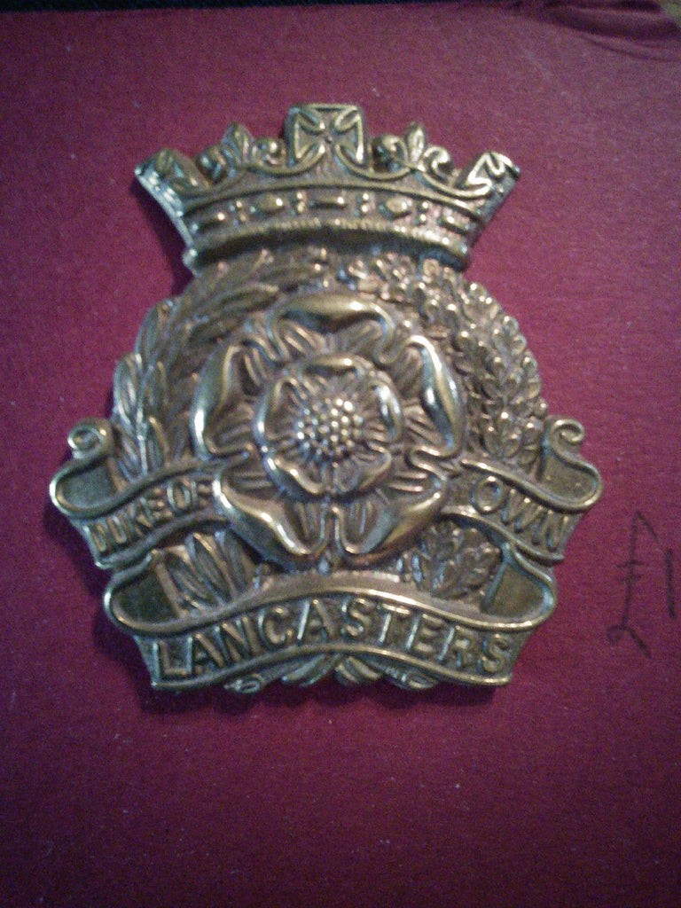 Original cap badge The Duke of Lancaster's Own Yeomanry (Dragoons)
