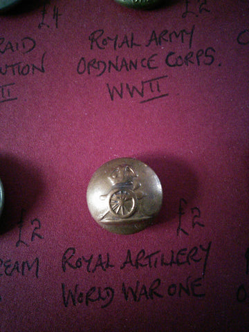 Original Royal Artillery button