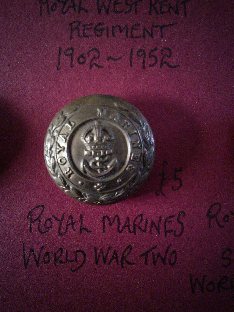 Original Royal Marines button