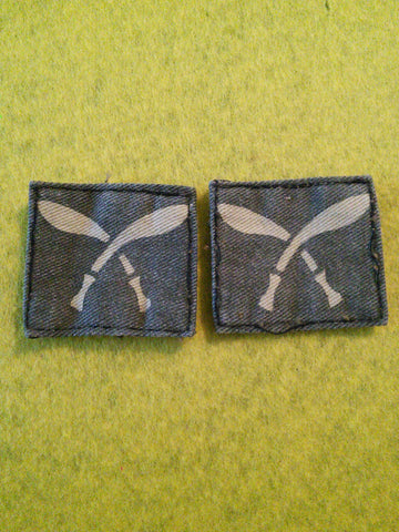 Original WW2 Gurkha Formations cloth pair