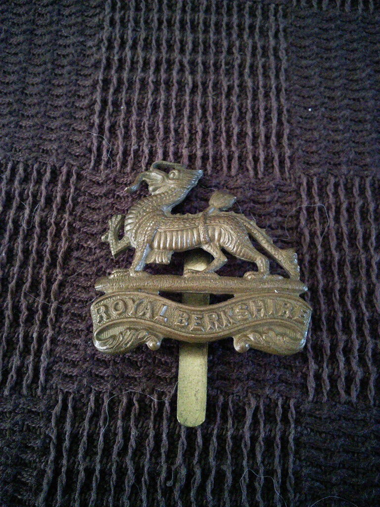 Cap Badge - The Royal Berkshire Regiment