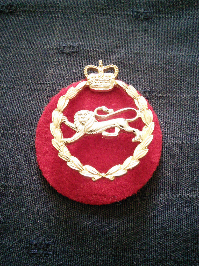 The King's Own Royal Border Regiment Sta-brite Cap Badge
