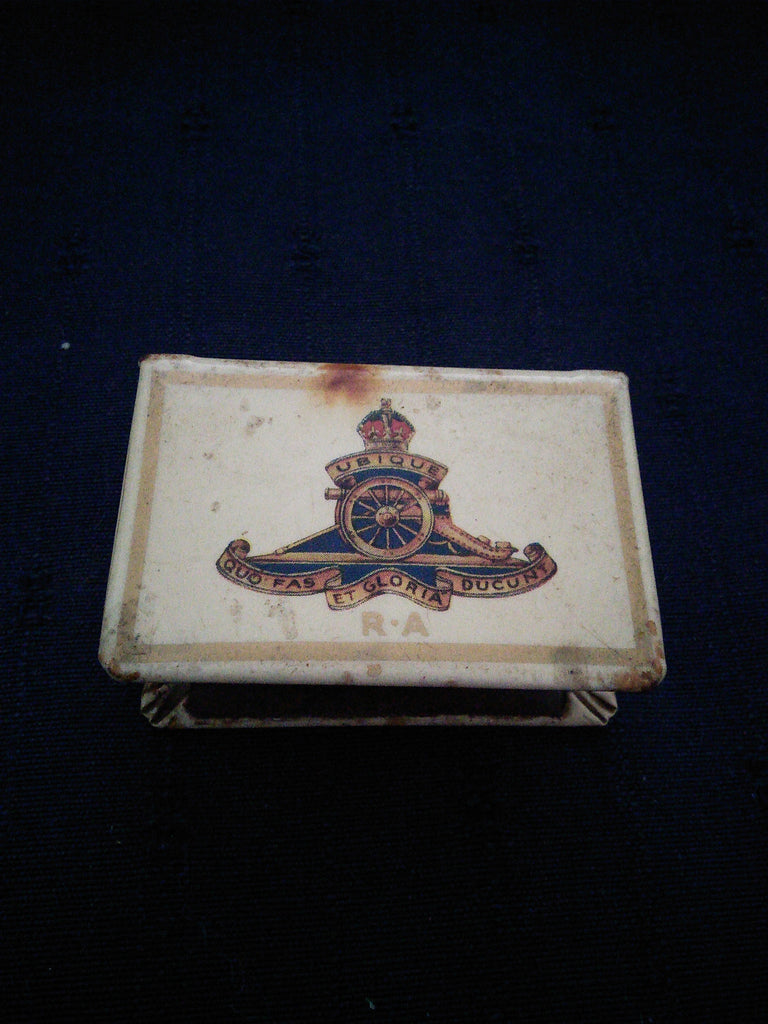Royal Regiment of Artillery Matchbox Holder WW2
