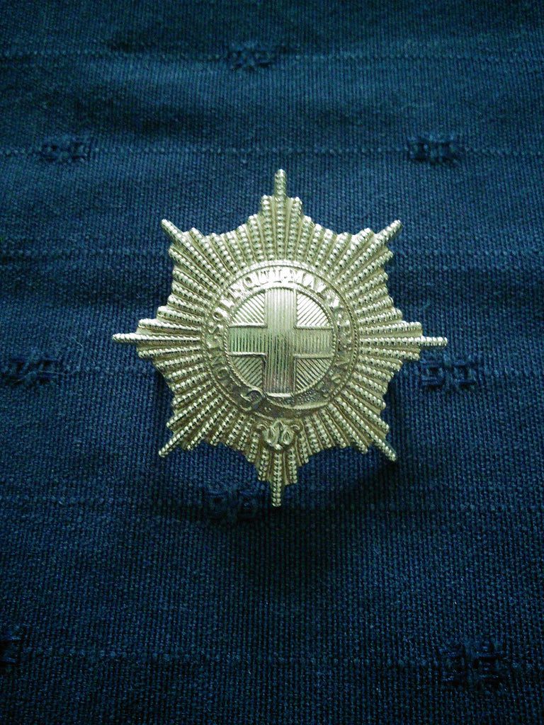 The Coldstream Guards Sta-brite Cap Badge