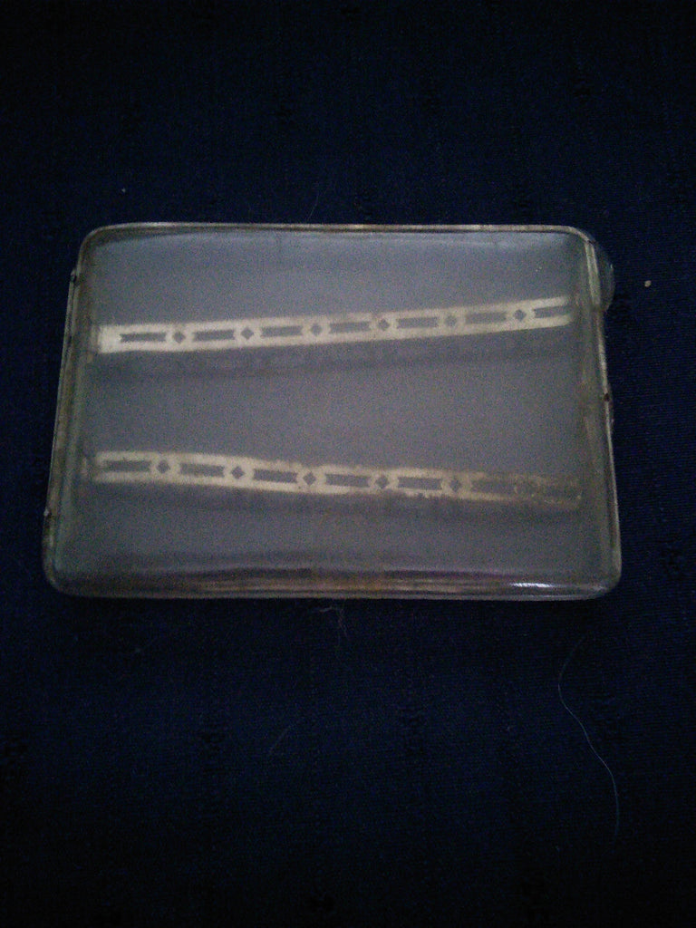 RARE Handmade WW2 Cigarette Case made from the cockpit of a fallen Allied aircraft in Italy