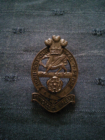 The Princess of Wales's Royal Regiment Cap Badge