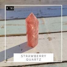 Load image into Gallery viewer, Strawberry Quartz Tower