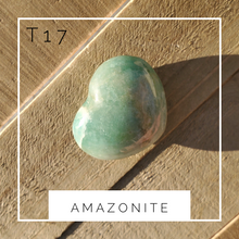 Load image into Gallery viewer, Amazonite Heart