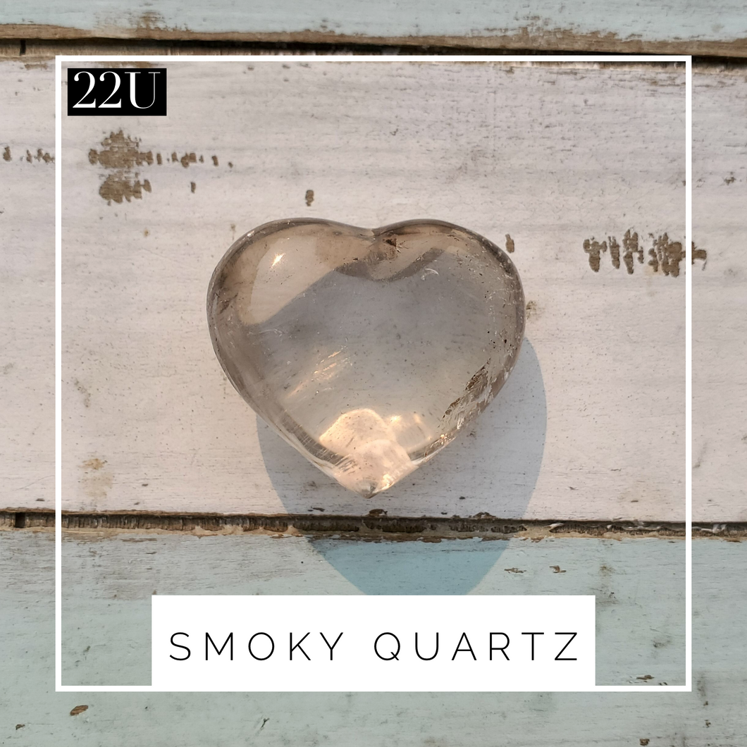 Smoky Quartz Heart