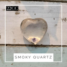 Load image into Gallery viewer, Smoky Quartz Heart