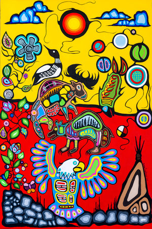 Anishinaabe - Ojibway art