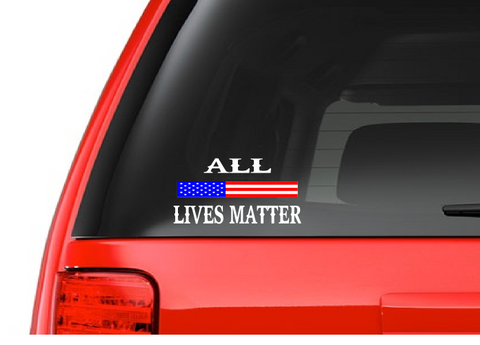Lives Matter Decals
