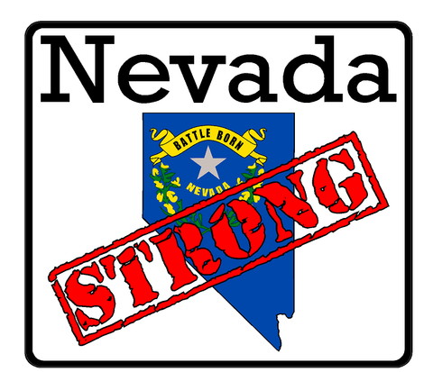 Nevada State (K29) Strong Flag Vinyl Decal Sticker Car/Truck Laptop Window