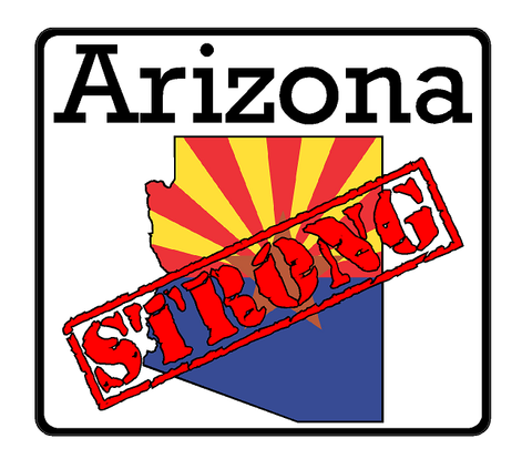 Arizona State (K5) Strong Vinyl Decal Sticker Car/Truck Laptop/Netbook Window