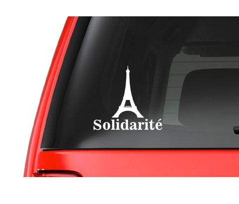 Solidarit (M46) Paris France Support Vinyl Decal Sticker Car/Truck Laptop/Netbook Window